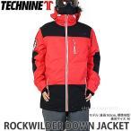 20 テックナイン ジャケット TECHNINE ROCKWILDER DOWN JACKET スノーボード スノボー ウェア メンズ デザイン SNOWBOARD カラー:Red/Blk