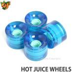オージェイ ホット ジュース ウィール OJ HOT JUICE WHEELS スケートボード ソフト クルーザー スクエア オールドスクール Trans Blue サイズ:60mm/78a