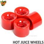 オージェイ ホット ジュース ウィール OJ HOT JUICE WHEELS スケートボード ソフト クルーザー スクエア オールドスクール カラー:Red サイズ:60mm/78a