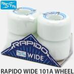 リクタ ラピード ワイド ウィール RICTA RAPIDO WIDE WHEEL スケートボード スケボー ハード SKATE カラー:Wh/Bl サイズ:53mm/101a