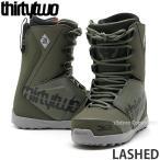 サーティーツー ラシェッド THIRTYTWO LASHED 19model 18-19 スノーボード ブーツ メンズ 紐 シューレース SNOWBOARD BOOTS カラー:OLIVE