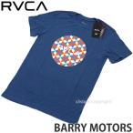 ルーカ ルカ バリー モーターズ Tシャツ RVCA BARRY MOTORS ray fong twist レイフォン ツイスト バリーマギー 服 カラー:DARK BLUE