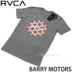 ルーカ ルカ バリー モーターズ Tシャツ RVCA BARRY MOTORS ray fong twist レイフォン ツイスト バリーマギー 服 カラー:GREY NOISE