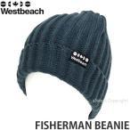 16 ウエストビーチ フィッシャーマン ビーニー 【Westbeach FISHERMAN BEANIE】 国内正規品 スノーボード スノボ ビーニー ニットキャップ リブワッチ Col:SLATE