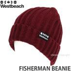16 ウエストビーチ フィッシャーマン ビーニー 【Westbeach FISHERMAN BEANIE】 国内正規品 スノーボード スノボ ビーニー ニットキャップ ワッチ Col:AUBURN