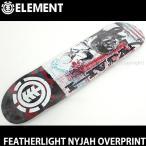 エレメント フェザーライト ナイジャ オーバープリント ELEMENT FEATHERLIGHT NYJAH OVERPRINT スケートボード デッキ 板 ストリート