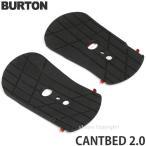 バートン カントベッド 2.0 【BURTON CANTBED 2.0】 スノーボード バインディング フットベッド 傾斜 パーツ 交換用 SNOWBOARD BINDING FOOTBED カラー:BLACK