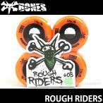 ボーンズ ラフ ライダーズ 【BONES ROUGH RIDERS】 スケートボード スケボー ソフト ウィール クルージング SKATEBOARD SOFT WHEEL Aグレード ATF カラー:Orange