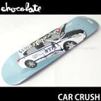 チョコレート カー クラッシュ 【CHOCOLATE CAR CRUSH】 スケートボード デッキ 板 シグネチャー プロ 国内正規品 SKATE カラー:J.スー サイズ:7.75×31.125