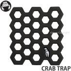 クラブ グラブ クラブ トラップ 【CRAB GRAB CRAB TRAP】 スノーボード SNOWBOARD デッキ パッド 軽量 強力グリップ 滑り止め ワンフット Color:BLACK