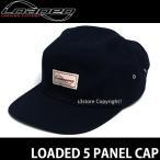 ローデッド ファイブ パネル キャップ 【LOADED 5 PANEL CAP】 スケートボード SKATEBOARD 帽子 ロゴ Color:BLUE Size:OSFA