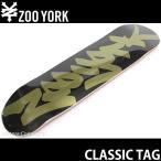 ズーヨーク クラシック タグ 【ZOOYORK CLASSIC TAG】 スケートボード スケボー デッキ 板 チーム ストリート ニューヨーク 東海岸 SKATEBOARD DECK サイズ:8