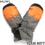 17model ハウル チーム ミット 【HOWL TEAM MITT】 16-17 スノーボード グローブ メンズ SNOWBOARD GLOVE MENS 中綿 ロゴ カラー:GRAY