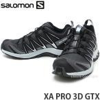 サロモン SALOMON XA PRO 3D GTX トレッキングシューズ ランニング トレイル 靴 登山 アウトドア 防水 軽量 安全 高機能 カラー:Mt/Blk/Pl