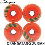 ローデッド オランガタン ドリアン LOADED ORANGATANG DURIAN スケートボード SKATEBOARD ソフト ウィール パーツ WHEEL Color:Orange Size:75mm/80A