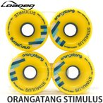 ローデッド オランガタン スティミュラス 【LOADED ORANGATANG STIMULUS】 スケートボード SKATEBOARD ソフト ウィール WHEEL Color:Yellow Size:70mm/86A