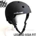 17 サンドボックス レジェンド アジアンフィット 【SANDBOX LEGEND ASIA FIT】 国内正規品 スノーボード ヘルメット プロテクター SNOWBOARD カラー:M.BLACK