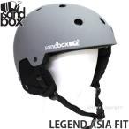 17 サンドボックス レジェンド アジアンフィット 【SANDBOX LEGEND ASIA FIT】 国内正規品 スノーボード ヘルメット プロテクター SNOWBOARD カラー:M.GREY