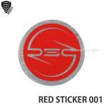バートン レッド サークル ステッカー スモール 【BURTON RED CIRCLES STICKER SMALL】 シール スノーボード スノボ カラー:SHARP サイズ:S (3.2cm)