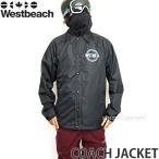 17model ウエストビーチ コーチ ジャケット ウエア Westbeach COACH JACKET 16-17 国内正規品 スノーボード スノボ ウェア メンズ WEAR MEN カラー:Black