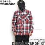 16 ウエストビーチ ディアハンター シャツ ウエア Westbeach DEERHUNTER SHIRT 国内正規品 スノーボード スノボ メンズ アパレル カラー:RED