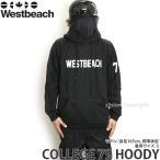 16 ウエストビーチ カレッジ 79 フーディ 【Westbeach COLLEGE 79 HOODY】 国内正規品 スノーボード スノボ メンズ ウエア パーカー SNOWBOARD カラー:BLACK