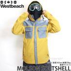 16 ウエストビーチ モルソン ソフトシェル 【Westbeach MOLSON SOFTSHELL】 国内正規品 スノーボード メンズ ウェア ウエア SNOWBOARD WEAR カラー:SANDMAN