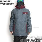 16 ウエストビーチ スキフ ジャケット ウエア Westbeach SKIFF JACKET 国内正規品 スノーボード スノボ メンズ ウェア WEAR MENS カラー:SLATE