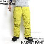 16 ウエストビーチ ハーベイ パンツ ウエア Westbeach HARVEY PANT 国内正規品 スノーボード スノボ メンズ ウェア WEAR MENS カラー:OIL YELLOW