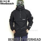 17 ウエストビーチ バークレー オーバーヘッド 【Westbeach BERKELEY OVERHEAD】 16-17 国内正規品 スノーボード スノボ ウェア SNOWBOARD WEAR カラー:Black