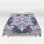 ソサエティシックス Society6 ブランド ベッド ベッドリネン bed linen ベッドカバー 掛け布団カバー - クイーンサイズ