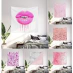 タペストリー 壁掛け tapestry おしゃれ 選べる99デザイン ピンク柄 pink柄 特集 - M:約173cm × 約203cm ソサエティシックス Society6