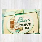 ショッピングDaddy ソサエティシックス Society6 ブランド ラグ ラグマット カーペット リビングマット 洗える おしゃれ - L:約122cm × 約183cm