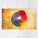 ショッピングcolors Society6 ラグ・ラグマット