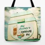 ショッピングDaddy ソサエティシックス Society6 ブランド トートバッグ キャンバス デザイナー おしゃれ L:横45.7cm x 縦45.7cm 45×45 軽量 布 エコバッグ