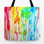 ショッピングcolors ソサエティシックス Society6 ブランド トートバッグ キャンバス デザイナー おしゃれ L:横45.7cm x 縦45.7cm 45×45 軽量 布 エコバッグ
