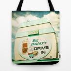 ショッピングDaddy ソサエティシックス Society6 ブランド トートバッグ キャンバス デザイナー おしゃれ M:横40.6cm x 縦40.6cm 40×40 軽量 布 エコバッグ