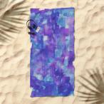 バスタオル おしゃれ ブランド おすすめ デザイナーズ  洗濯可 洗える ウォッシャブル ソサエティシックス Society6 約162cm × 約81cm