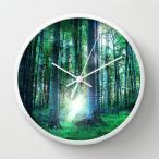 ソサエティシックス Society6 ブランド 置き時計 掛け時計 デザイナー おしゃれ 置時計 掛時計 白 ナチュラル ブラック 黒 ホワイト 選べる