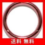[凛RIN] サージカルステンレス ワンタッチセグメントリング ボディピアス 軟骨ピアス フープ(14G・10mm/ピンク)