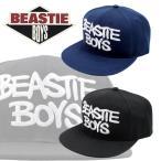 ビースティーボーイズ BEASTIE BOYS キャップ 帽子 刺繍 スナップバック アジャスター ストリート  ネイビー ストリート CHECK YOUR HEAD be-bb1606