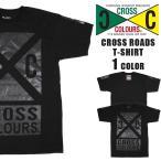 CROSS COLOURS クロスカラーズ  Tシャツ 大きいサイズ アメリカ クロスカラーズ  Tシャツ レゲエ ダンス cc-c10017ocxc