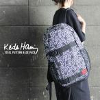 Keith Haring キース・ヘリング 総柄デイパック KHB-KH-1915 リュック メンズ レディース 軽量 バックパック リュックサック 通学