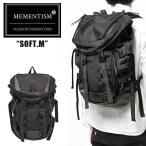 メメントイズム MEMENTISM SOFT.M バックパック ナイロン レザー リュック カバン 鞄 ルード系 スケート mmnt-softm