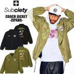 サブサエティ SUBCIETY COACH JACKET-ZIPANG- コーチ ジャケット コーチジャケット ナイロン 大きいサイズ XL ルード系 ストリート  サブサエティー sb-10522