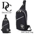 ショッピングドレス ドレスキャンプ DC DRESSCAMP ボディバッグ DC-5002 プレーン  ワンショルダー メンズ