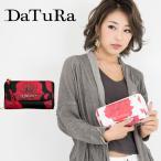 ダチュラ DaTuRa 長財布 DTR-4303 BARA  2WAY ローズ柄 花柄 プリント ショルダーバッグ レディース