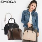 エモダ EMODA ハンドバッグ EM-9210 異素材バイカラー  2WAY ショルダーバッグ レディース