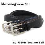 マンシングウェア Munsingwear ベルト MU-905016  メンズ レザー BELT マンシング