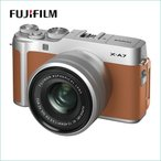 フジフイルム(FUJIFILM) X-A7 XC15-45mmF3.5-5.6 OIS PZ レンズキット キャメル